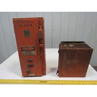 Square D 240/480V 3Ph 3Hp Fused Disconnect Combination Starter