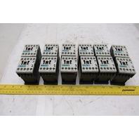 Siemens 3RH1122-1BB40 Control Relay Lot of 12