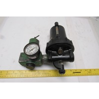 "Watts Inline Air Regulator Lubricator Assembly 1"" NPT"