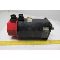 GE Fanuc A06B-0128-B577#7008 4kW 114V 3000 RPM 200Hz AC Servo Motor Encoder