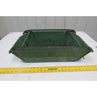 "Nestier Vintage Nesting Basket Slug Catcher Parts Bin Scrap 12 x 23 x 7-1/2"""