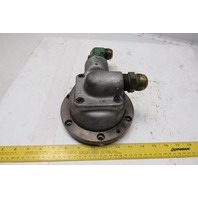 "5-1/4"" Raised Face Flange Mount Hydraulic Rotary Union"