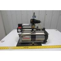 Maximator GPLV2 145 PSI Air Drive 1:2 Ratio Air Amplifier Booster Regulator