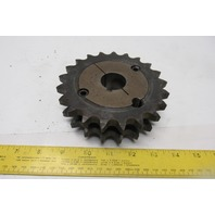"Martin D60BTB21H-2517 Double Roller Sprocket #60 21 Tooth W/1-1/4"" Bushing"