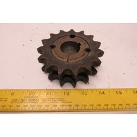 "Martin D60BTB15H 1615 Double Roller Sprocket #60 15 Tooth W/1-3/16"" Bushing"