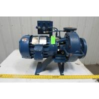 "Cornell Baldor 2CB5-4 5Hp 1760RPM 230/460V 93GPM 4""x2"" Refrigerant Duty Pump"