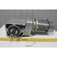 Nord SK 92772.1V-90LH/4 21.14:1 Ratio 81.5RPM 265/460V 50/60Hz LH Gear Motor