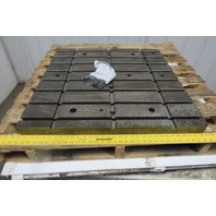 "32"" x 32"" T-Slot Work Holding Table Top"