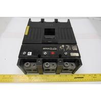 Westinghouse TJK436F000 400A Circuit Breaker 600V 3 Pole