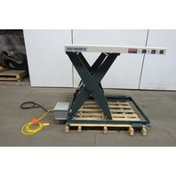 "Southworth LS2-36 2000Lb Hydraulic Scissor Lift Table 48""x36"" Top 480V 3Ph"