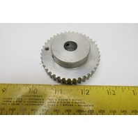 "40M5-L09M Sprocket Pulley 40 Tooth 1/2"" Bore"