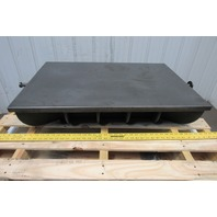 "24"" x 36"" Cast Iron Webbed Calibration Lapping Surface Plate"
