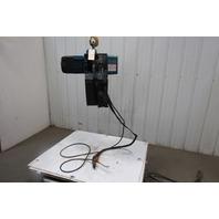 Demag DC-Pro 10-1000H5V14 Electric Chain Hoist 2200lb 16' Lift 48/12 2 Spd 460V