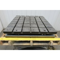 "36"" x 36"" Cross Section T-Slot Surface Plate Workholding"