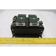 EZ Automation EZPLC-A-32 32 Channel I/O 4 Slot Base W/ Logic Cards PLC