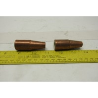 TWECO 21T-37 Tapered Nozzle Lot of 2