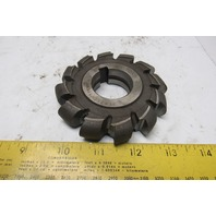 "3-3/4"" OD x 3/4"" 12 Tooth Convex Face Mill Cutter 1"" Arbor"
