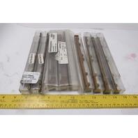 Elliott Tool 0570001-0218 0314-0414 Integral Cutter Carbide Tipped Lot of 9