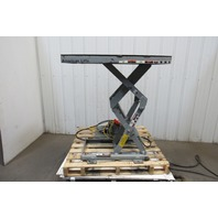 "American Lifts P-36-020SF 2000Lbs. 40"" x 20"" 110V 1Ph Scissor Lift Table 6""-44"""