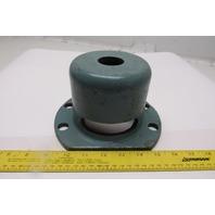 Suspended Isolator Antivibration Mounting Bracket