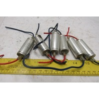 NCC National Control Capacitor 200VAC .5 + 50 Ohm Lot Of 6