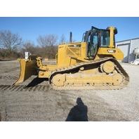 Cat Caterpillar D6N LGP Bulldozer Crawler AC/Heat Cab 6 Way Blade 10,928 Hrs
