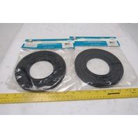 Harvey's 070085 Flexible Toilet Seal Gasket (Waxless) Lot of 2