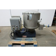 Rototron RT-150 45 Gallon Stainless Steel Turbo Mixer Agitator 15Hp 208-230/460V