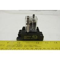 Cutler Hammer D7PR2 Ser A2 10A 120/240V or 30VDC Relay W/17X6H Base