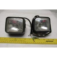 Imasen Electric 1111-244 Forklift Head Light 48V Lot Of 2