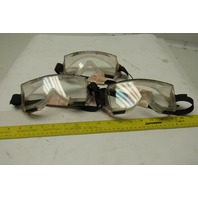 Durafon lll Professional Safety Chemical Splash Lab Goggles Lot of 3