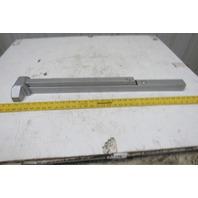 "Hager 118164 4700R RIM 36"" Aluminum Finish Exit Push Panic Bar"