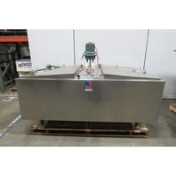 Jamesway Sani-Kool 400 Gal Sanitary Tank With Agitator Dairy Mixing Tank
