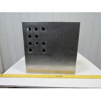 "Hoffman CSD20208SS 20""x20""x8"" Stainless Steel Electrical Enclosure W/Backplate"