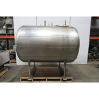 Zero A0L700 700 Gal Stainless Steel Non Vacuum Sanitary Dairy Holding Tank