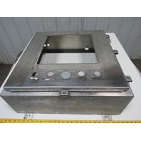 "24""x24""x8"" Stainless Steel Electrical Enclosure W/Backplate"