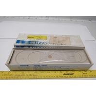 "Clipper U2C12W 18540 Coated Steel Belt Lacings 12"" Unibar Fastener Box of 12"