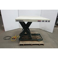 "Southworth LS2-36 2000 Lb. 48""x48"" Hydraulic Scissor Lift Table 8-44"" Lift 115V"