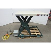 "Southworth 2000Lb. 48x36"" Hydraulic Scissor Lift Table 7 to 43"" 7 Sec. Lift 480V"