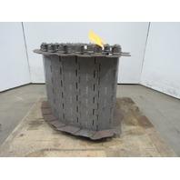 """SteeltraK 18""""x 108"""" Carbon Steel And Mild Steel Hinge Type Conveyor Chain"""