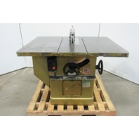 "Powermatic 72A 7.5Hp 14"" Tilt Table Saw W/Blade Guard 460V 3Ph"