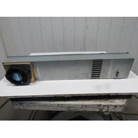 "NMB 5915PC-23T-B30 7"" x 39-1/2"" Low Profile Panel Mount Cooling Unit 230V"