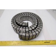 """OKSO 1-3/4"""" x 1"""" Cable Hose Carrier Drag Energy Chain Stainless 49"""" OAL"""