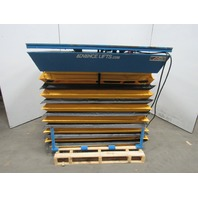 "Advanced 3536 3500 Lb Scissor Lift /Turn Table 56""x42"" 115V 16"" to 50"" High"