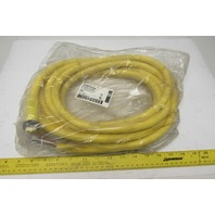 Brad Connectivity 1300070149 Female Straight Single Ended 20' 16/8 AWG PVC Cord