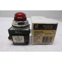 General Electric CR104PLG18R Red Pilot Light 30mm 24V