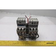 Cutler Hammer CE55DN3 Ser B1 Reversing Relay W/C320KGT8 Aux Contact