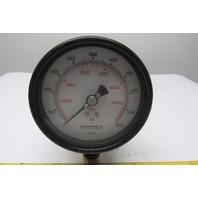 """Enerpac GP-10S 3-1/2"""" Hydraulic Pressure Gauge 0-10000 PSI 0-70000kPa"""