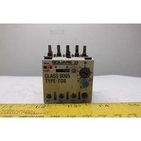 Square D 9065 TD8 Thermal Overload Relay 8-11.5A