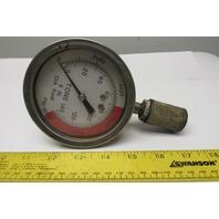 """Ashcroft 250-2456-B 250-2990A01 3-1/2"""" Gauge 0-10000 PSI 0-140 Tons 6"""" Dia Ram"""